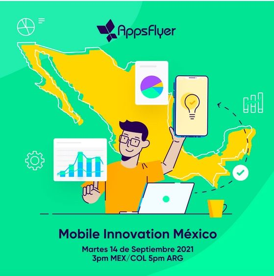 Se acerca el 1er foro de marketing Mobile Innovation México de AppsFlyer