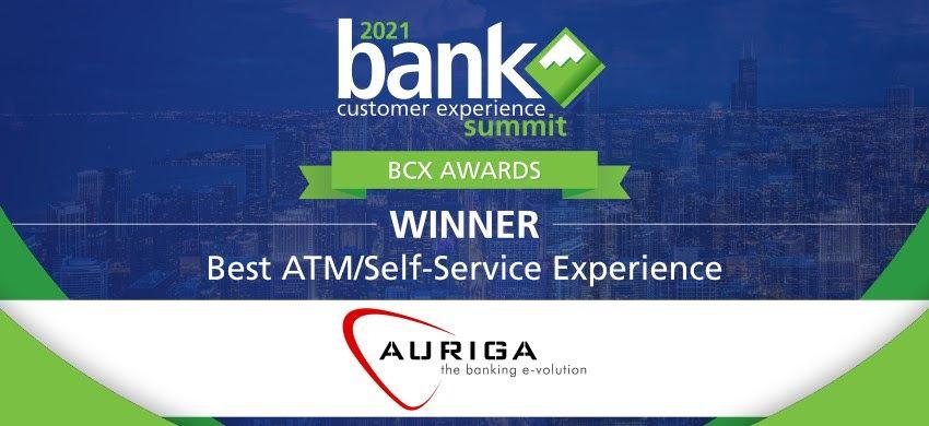 La solución #NextGenBranch de Auriga gana el premio BCX a la mejor experiencia de autoservicio financiero